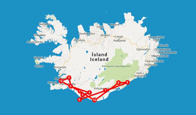 Voyages-et-Compagnie.com |Itinéraire roadtrip Islande
