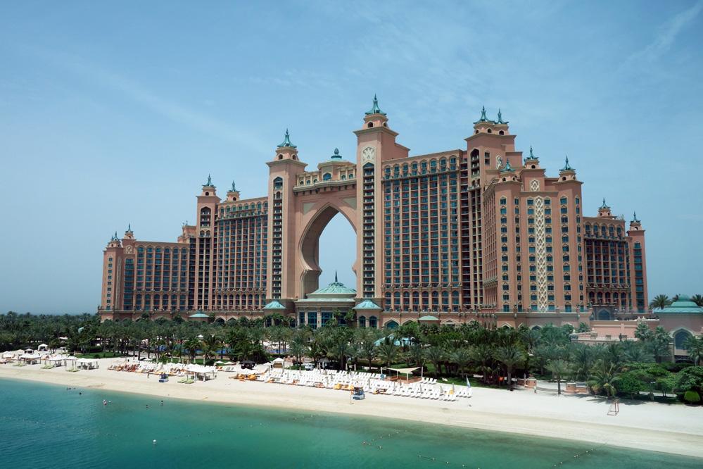 Palm Jumeirah - Hôtel Atlantis