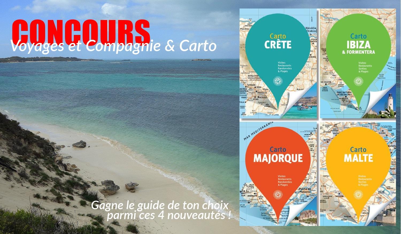 Voyages-et-compagnie.com - Blog voyage | Concours CARTO Cartoville