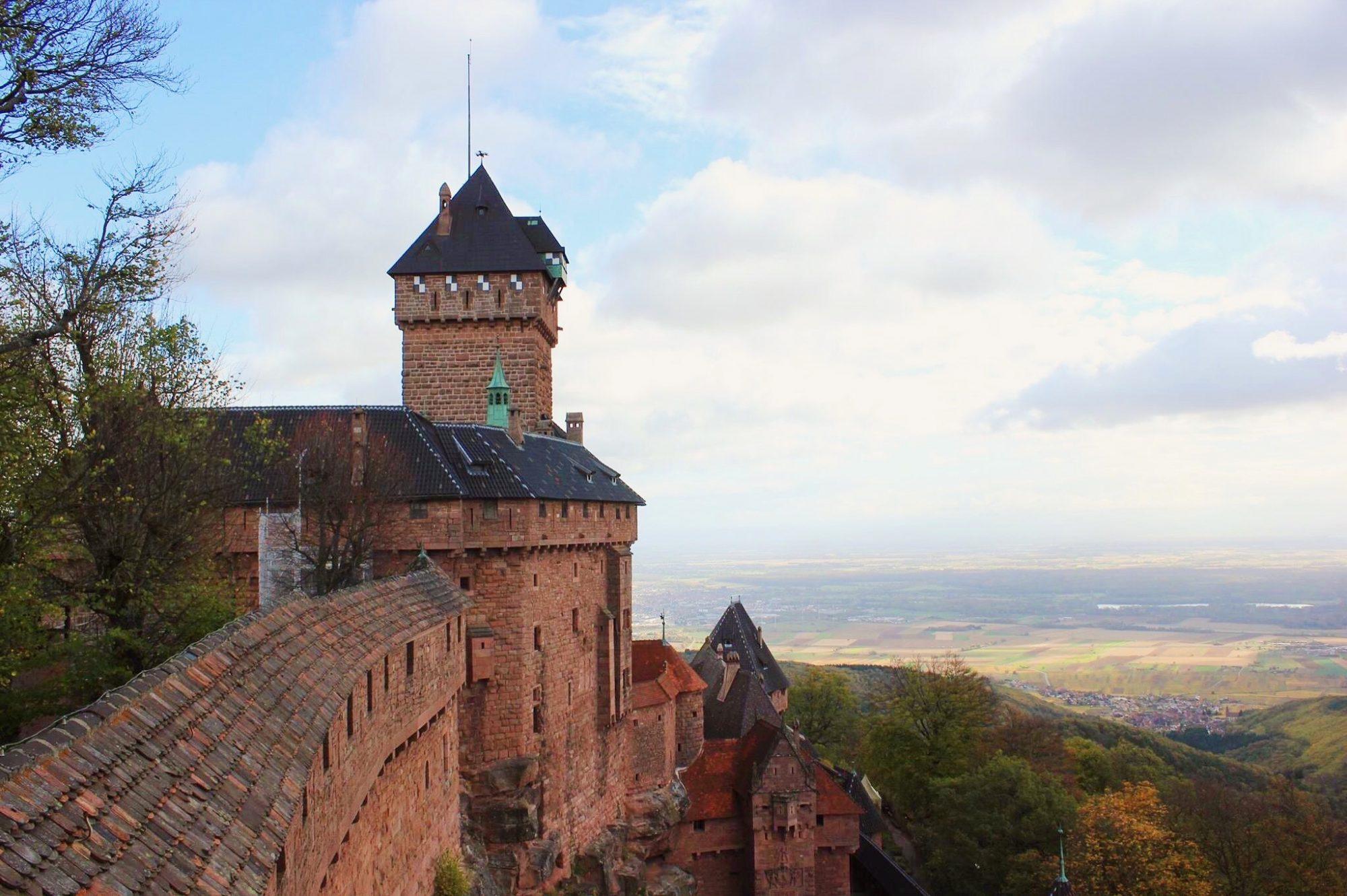 Château du Haut Koenisgbourg, Alsace